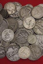 MAKE OFFER 1 Standard Pound Roosevelt Walking Washington Junk 90% Silver Coins