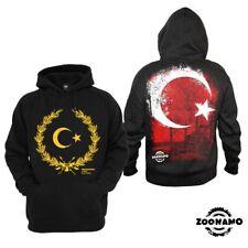 Zoonamo Kapuzen Pullover Hoodie Hoody Türkei Turkey Classic EM Fußball Football