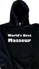 World's Best Masseur Hoodie Sweatshirt