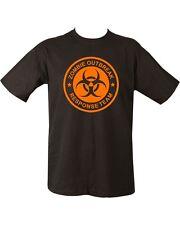 ZOMBIE OUTBREAK ORANGE Unisex T-shirt Zombies Zombie hunter undead Living Dead
