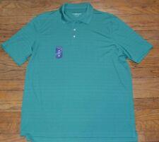 Croft & Barrow Cool & Dry Polo Wicking Quick Dry UPF 15+ Tidepool Green
