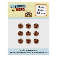 Home Button Stickers Set Fit Apple iPhone 5 5c 5s 6 6s Plus Pattern Prints L-Z