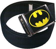 Batman Belt Buckle Bottle Opener Adjustable Web Belt