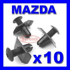 Mazda Anteriore Paraurti Posteriore Trim Clip Fermo Fissaggio 3 323 MX3 MX5 MX6 MPV AVVIAMENTO A