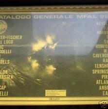 Catalogo Treni generale MFAL 92