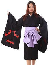 Japanese Manga Kamiyomi Cosplay Costume Mikaduki Kimono V1 Set