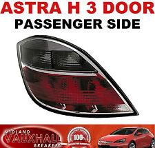 Vauxhall ASTRA H MK5 Affumicato Posteriore Posteriore Luce Lente PASSEGGERO Lato Vicino SXI Sri VXR