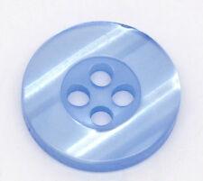 Multicolors 4 agujeros botones de costura de resina Recortes 15mm