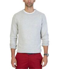 Nautica Mens Fine Striped Pullover Sweater