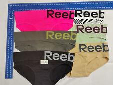 8 X Womens Reebok Sports Stretch Performance Seamless Underwear Size S M L XL