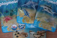 Playmobil Aquarium Family Fun Animaux Marins aux choix, 9065, 9066, 9069, 9071..