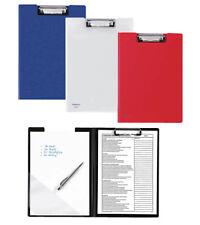 Schreibbrett Schreibmappe 10er-Pack Klemmbrett A4 mit Deckel Klemmmappe