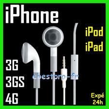 Accessoire Casque Kit Pieton Main Libre iPhone 4 3Gs 3G iPod iPad +Film