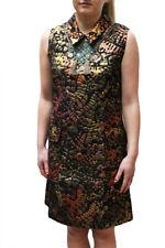 Desigual by L Lacroix Asha Shift Dress - Metallic Bronze UK 8-18 RRP�159