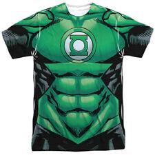 Green Lantern DC Comics Superhero Hal Jordan Costume Adult 2Side Print T-Shirt T