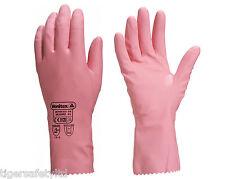 Delta Plus Venitex VE210 Zephir 210 Pink Latex Rubber Chemical Resistant Gloves