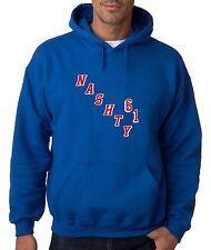 "Rick Nash New York Rangers ""Nashty"" jersey Hooded SWEATSHIRT"