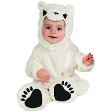 Polar Ice Ice Baby White Bear Costume Halloween Fancy Dress