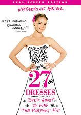 27 Dresses (DVD, 2008, Pan  Scan Canadian)