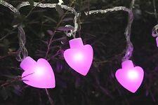 "20 Valentine Heart 2"" LED String light, Valentine day, heart, Valentine light"