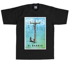 Streetwise Clothing El Barrio T-Shirt in black - West Coast Street Wear