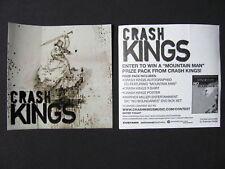 CRASH KINGS Mountain Man No Boundaries Amp Sticker