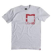 DC Shoes Herren T-Shirt RD UNDERPOCKET (Heather Grey)