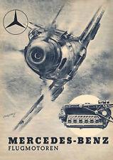 German Luftwaffe Flugmotoren Mercedes-Benz Aviation Motors Poster Print