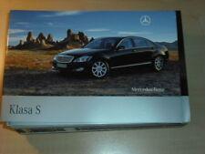 25300) Mercedes S-Klasse W221 Polen Prospekt 2007