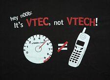 Honda Civic EG Black T-Shirt Vtec Hatchback Hatch Si cars racing EG6 vtech noob