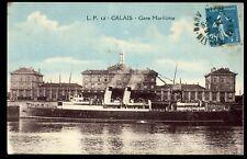 62 CALAIS gare maritime  1927    (3)