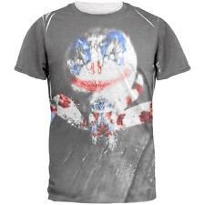Patriotic Killer Clown Spider Of Halloween Mens T Shirt