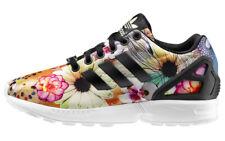 Adidas Originals ZX Flux Women's Floral Print Multicolor Black S78976 Rare