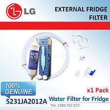 5231JA2012A LG Fridge Filter Genuine External fridge filter + Hose Kit