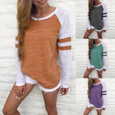 2017 New Autumn Fashion Women Loose Long Sleeve Tops Blouse Shirt Casual T-Shirt