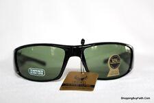 Sunglasses Eyewear Rectangular Black White USA  Logo 100% UVA & UVB Men Women