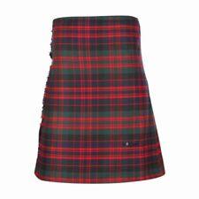 New Scottish Tartan Wedding Mens Kilt 8 Yard Polyviscose in MacDonald Modern