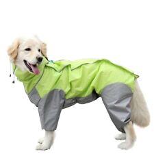 Small Medium Large Dog Raincoat Clothes Waterproof Rain Coat Pet Jumpsuit Jacket
