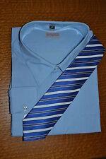 Travel Master Übergröße Herren Hemd mit Krawatte Business Gr. 5XL, 51/52 – NEU