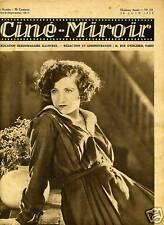 CINE-MIROIR n° 221.1929 CLAUDIE LOMBARD.SUZANNE CHRISTY