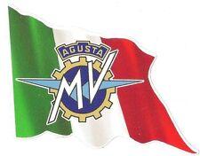 Sticker MV AGUSTA left flag gauche