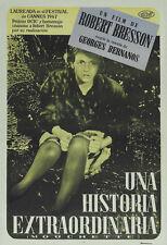 Mouchette Robert Bresson vintage movie poster print