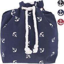 Lovely ANCHOR Anker Sailor Retro Turnbeutel RUCKSACK Gymsack Rockabilly