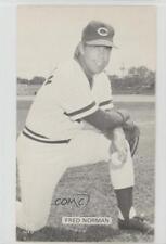 1950 1950-80s J D McCarthy Postcards #FRNO Fred Norman Cincinnati Reds Card