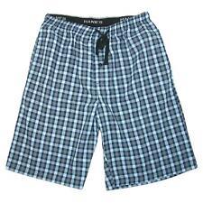 New Hanes Men's Big and Tall Madras Sleep Pajama Shorts