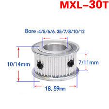 MXL Timing Belt Pulley 30 Teeth AF-type for 6mm 10mm Belt Reprap 3D Printer CNC