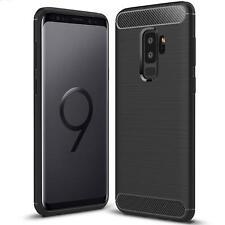 For Samsung Galaxy J6 A6 A8 2018 S9 J3 J5 2017 New Carbon Fibre Gel Phone Case