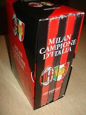 BOX COFANETTO 5 DVD AC MILAN 18 CAMPIONE D'ITALIA 2011