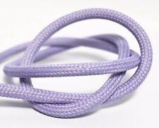 Premium Textilkabel Stoffkabel Stromkabel 2x0,75 und 3x0,75 EU Produkt - Flieder