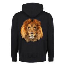 Sweat-shirt zippé à capuche Lion